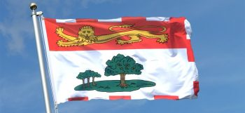 Prince Edward Island flag - Cannabis Business Today